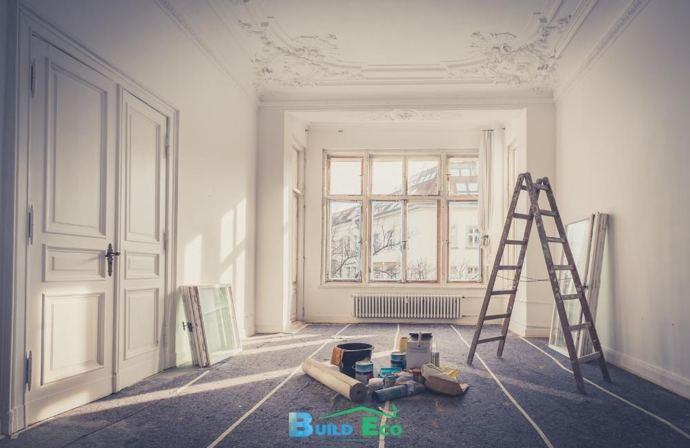 What comes first in a home renovation?